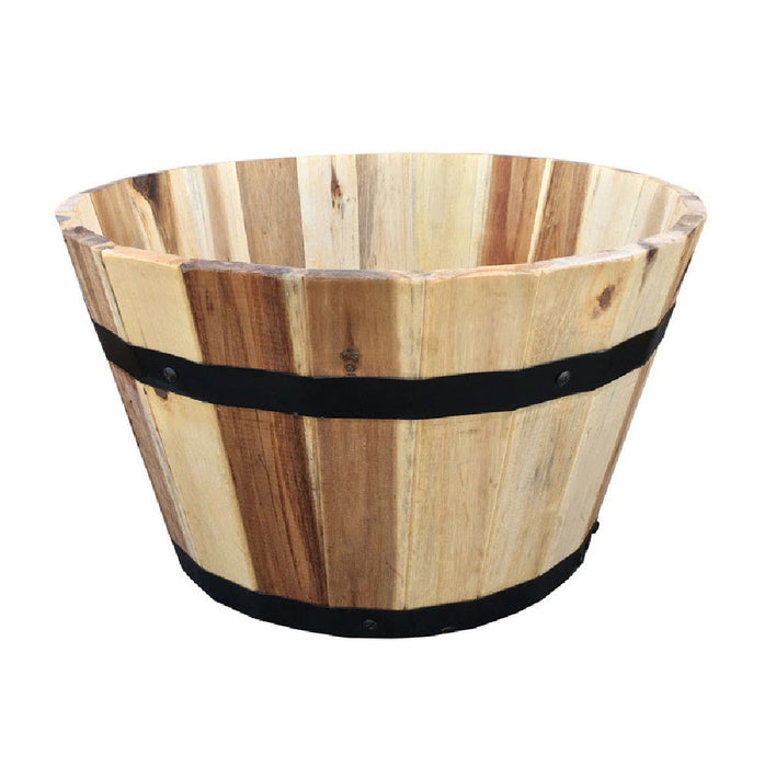Avera AWP304160 Traditional Planter, Wood, Natural, 9.5 Inch