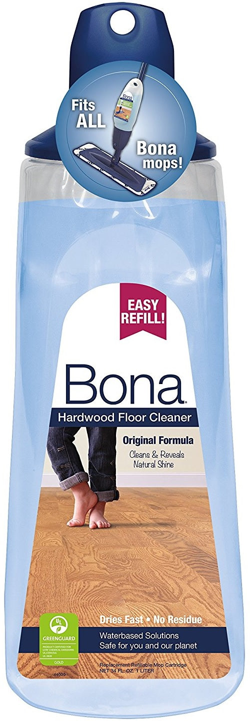 Bona Wm700054001 Hardwood Floor Cleaner Cartridge Refill, 34 Oz