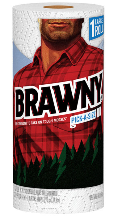 Brawny 44202 Paper Towels, White