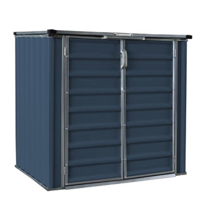 Build-Well BW0503HSH-GY Galvanized Steel Storage Shed, Grey