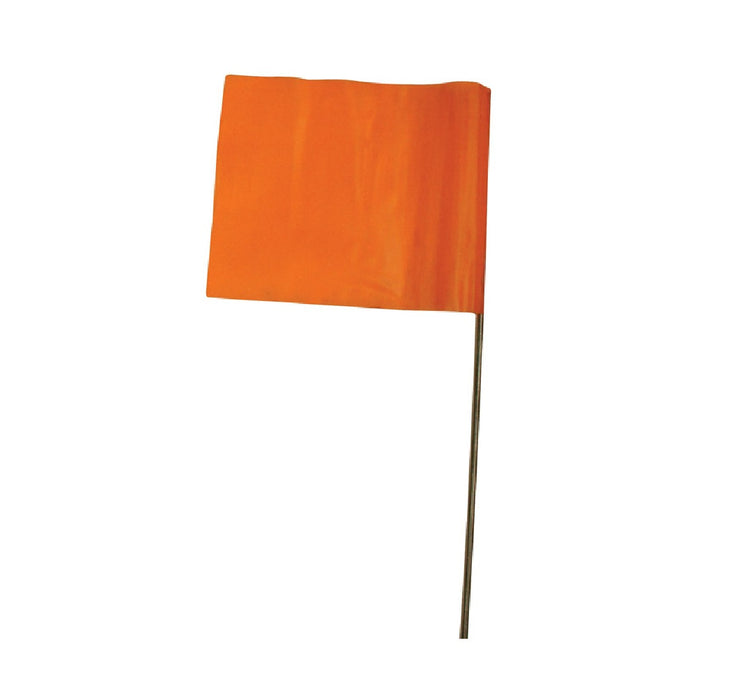 C.H. Hanson 15275 Plastic Marking Flag, Orange, 15