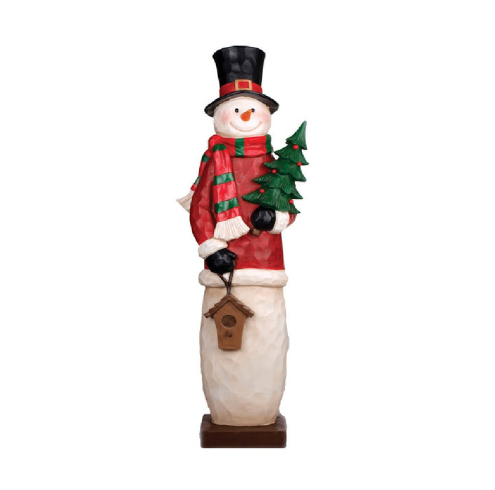 Celebrations B9141290 Christmas Snowman, Resin, 46