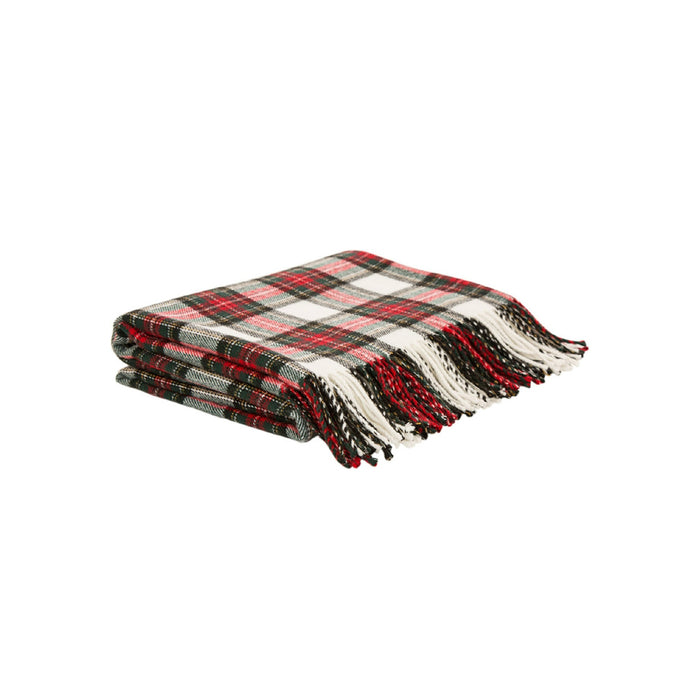 Celebrations 1126004089 Christmas Scarf Blanket, Multicolored, Cotton