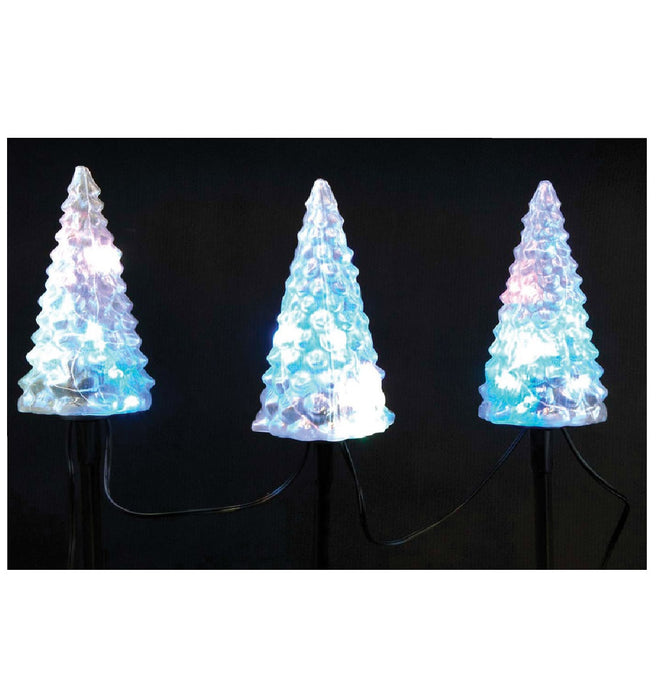Celebrations E46G4S12 LED Christmas Tree Driveway Marker, Clear