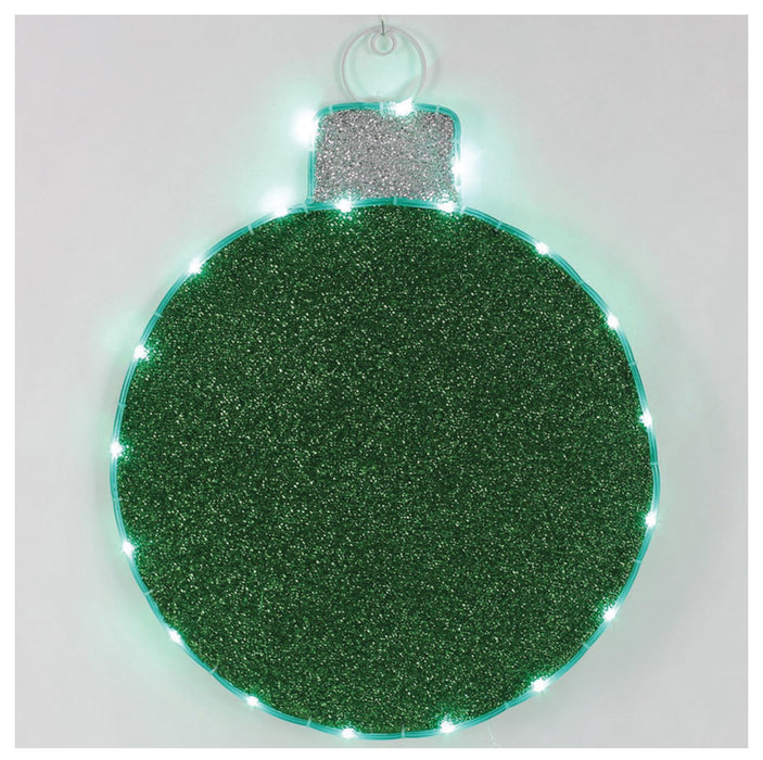 Celebrations 59904-71 LED Christmas Ornament Hanging Decoration, Green