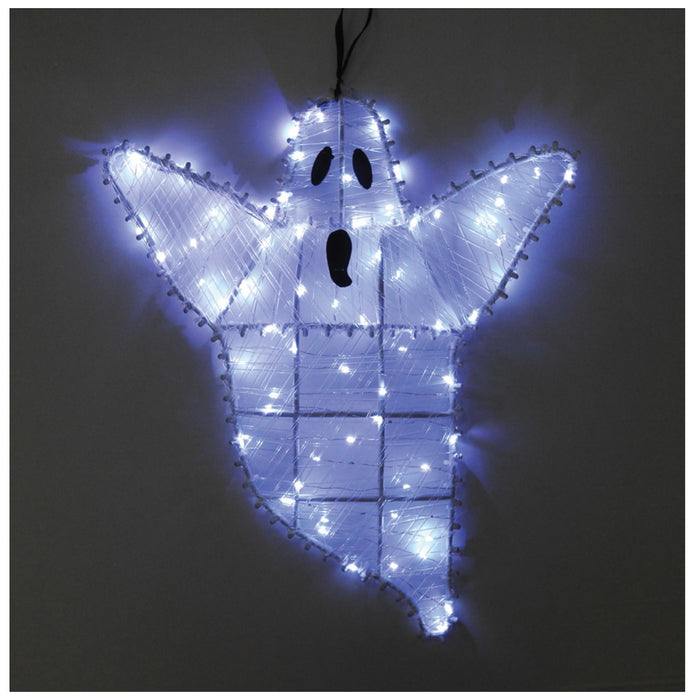 Celebrations 38112-71 LED Ghost Lighted Halloween Decoration, Cool White
