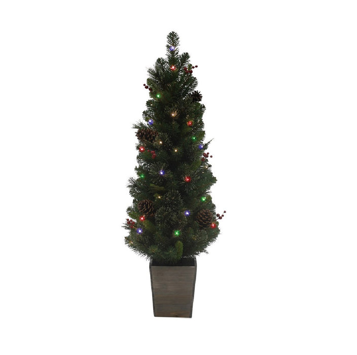 Celebrations TDCPPT4MBS-MUA Cedar Pine Potted Christmas Tree
