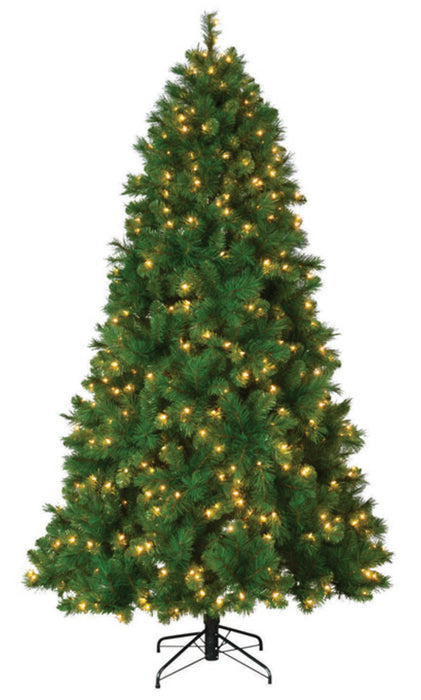 Celebrations TG76M3AT5D02 Concord Cashmere Slim Artificial Christmas Tree, 7'