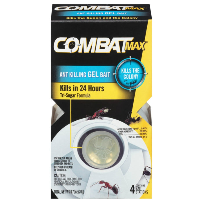 Combat 61761 Max Ant Bait Station, Pack of 4