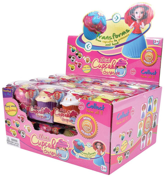 Cupcake Surprise 901740 Mini Scented Princess Doll, Assorted Color