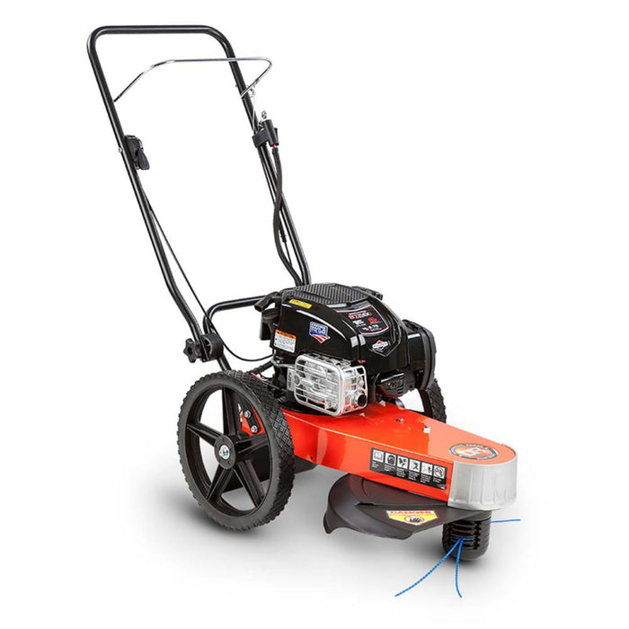 DR Power TR43067BMN Premier Manual-Push Trimmer Mower, 163 cc