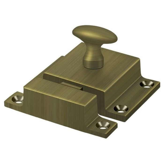 Deltana CL1580U5 Cabinet Lock, Antique Brass, 1-3/5