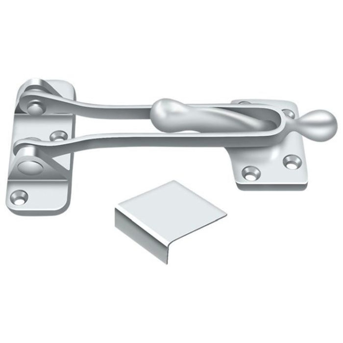 Deltana DG525U26 Door Guard, Bright Chrome, 5