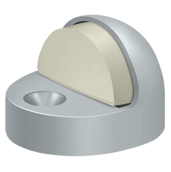 Deltana DSHP916U26D High Profile Dome Door Stop, Satin Chrome