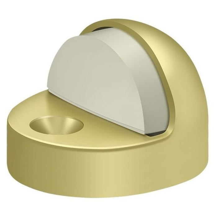Deltana DSHP916U3 High Profile Dome Door Stop, Bright Brass