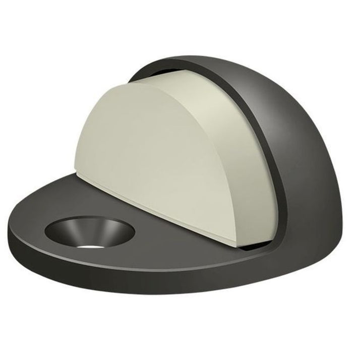 Deltana DSLP316U10B Low Profile Dome Door Stop, Oil Rubbed Bronze