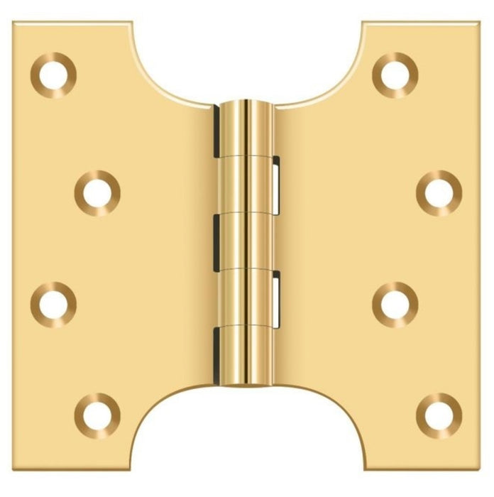 Deltana DSPA4040CR003 Parliament Hinge, Lifetime Brass, 4
