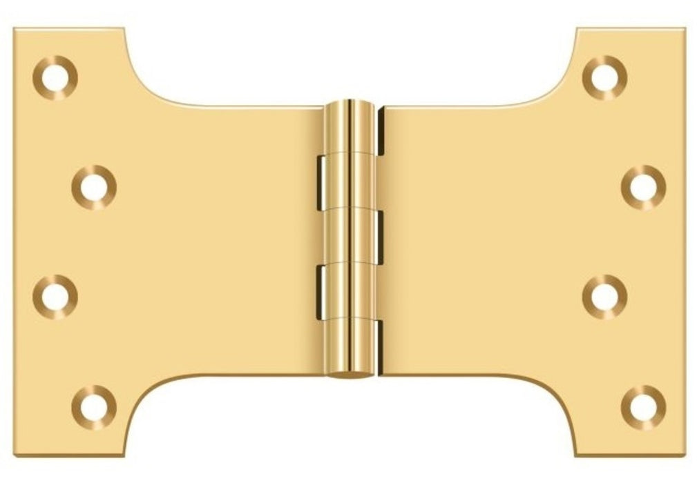 Deltana DSPA4060CR003 Parliament Hinge, Lifetime Brass, 4
