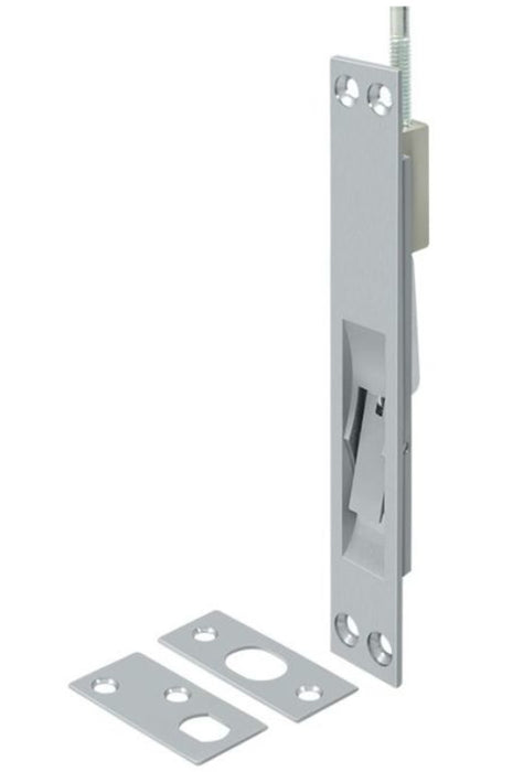 Deltana 12EFB26D Extension Flush Bolt, Satin Chrome