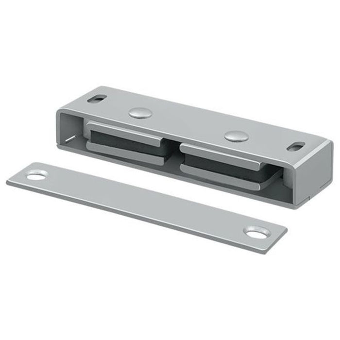 Deltana MC326 Magnetic Catch, Satin Chrome