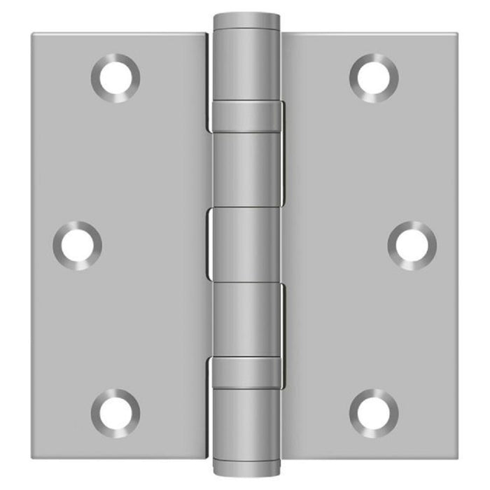 Deltana SS35BU32D Full Mortise Door Hinge, Satin Stainless Steel, 3-1/2
