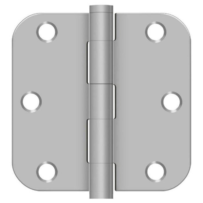 Deltana SS35R5U32D-R Full Mortise Door Hinge, Satin Stainless Steel, 3-1/2