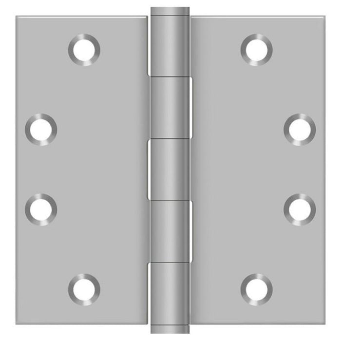 Deltana SS45U32D Full Mortise Door Hinge, Satin Stainless Steel, 4-1/2