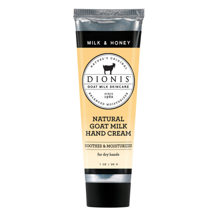 Dionis C33246-8 Milk & Honey Goat Milk Hand Cream, 1 Oz