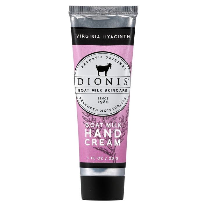Dionis Z52181-4 Goat Milk Virginia Hyacinth Scent Hand Cream, 1 Oz