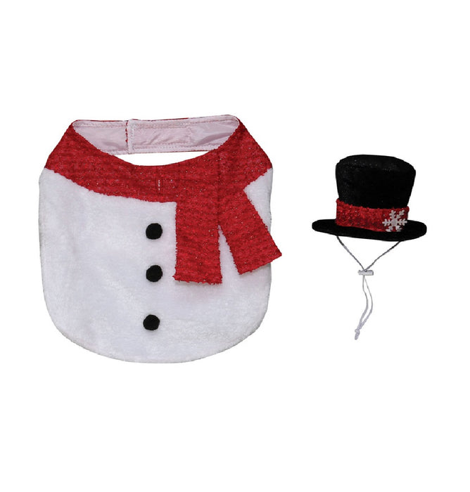 Dyno 3004175-1MAC Christmas Snowman Pet Costume, Polyester