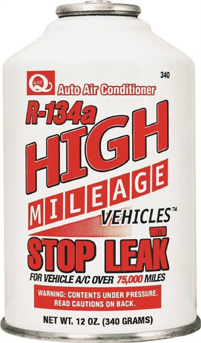 EF SZ340-1 Automotive AC Refrigerant With Stop Leak, 12 oz