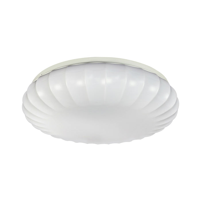 ETI 54451511 Color Preference Carousel Decorative Dimmable Flush Mount, White, 15
