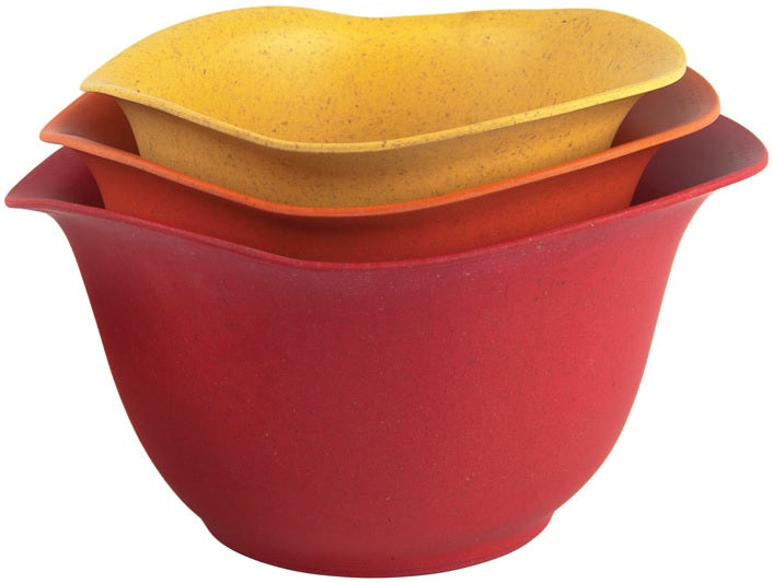 Ecosmart EBS234R Architec Purlast Mixing Bowl Set, Assorted Color