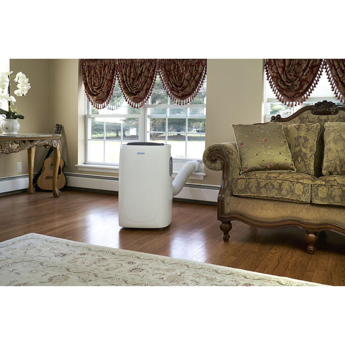 Emerson EAPC12RD1 Portable Air Conditioner With Dehumidifier Function, White, 115 Volt