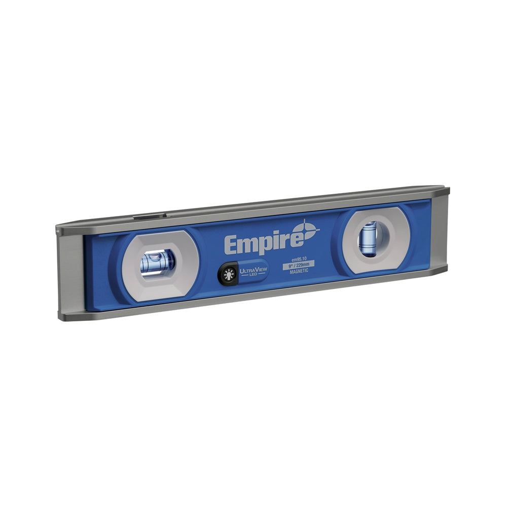 Empire EM95.10 UltraView LED Torpedo Level, 9""
