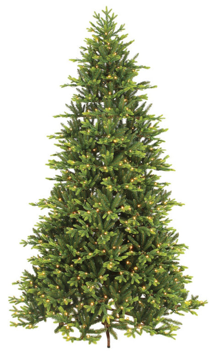Everlands 9690212 Prelit Kingswood Hinged Christmas Tree, 7-1/2'