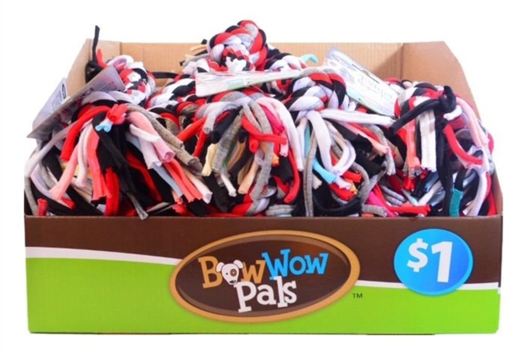 Bow Wow Pals 7544 T-Shirt Rope Toy, Cotton