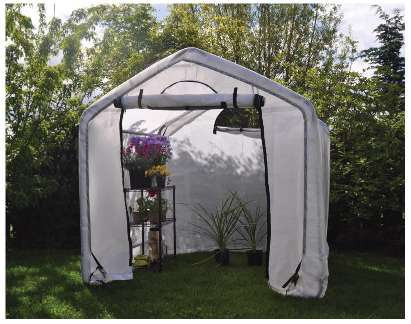 Foremost 43006 Dry Top Grow Greenhouse, Translucent