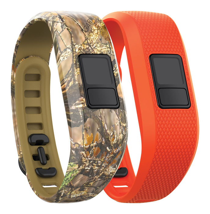 Garmin 010-12452-33 Vivofit 3 Regular Size Activity Tracker Bands, Plastic/Rubber, Camo/Blaze Orange