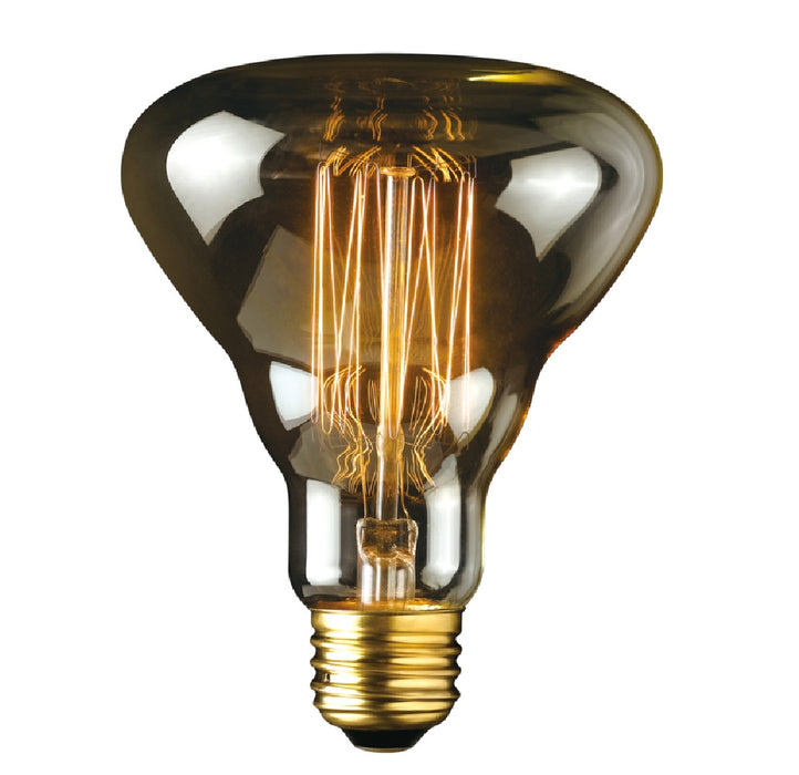 Globe 84654 Labo R30 Decorative Incandescent Bulb, Amber, 40 W