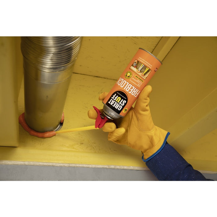 Great Stuff 99112831 Fireblock Polyurethane Foam Insulating Sealant,  Orange, 12 Oz
