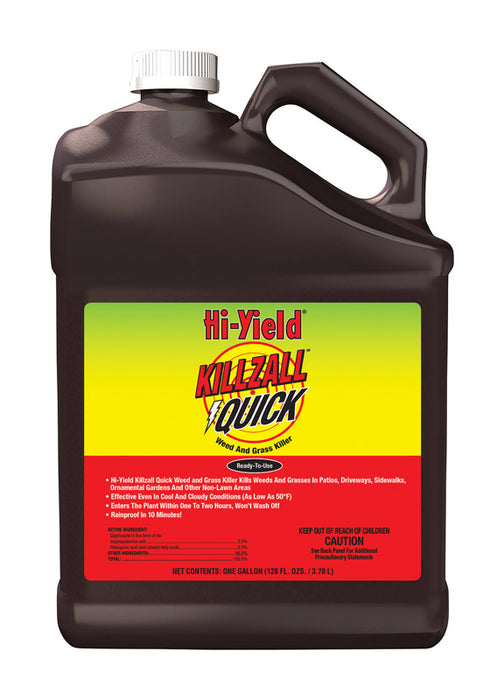 Hi-Yield 32169 Killzall Quick Weed and Grass Killer, 1 Gallon