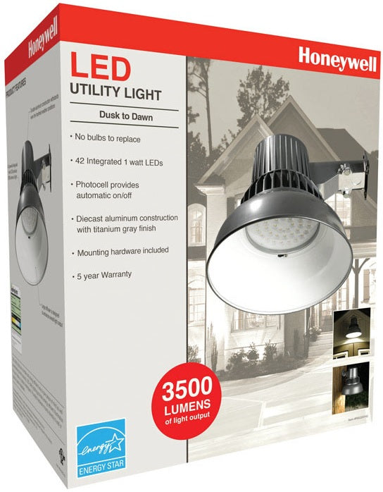 Honeywell MA0251-82 Area Light With Sensor, 120 Volts, 45 Watts