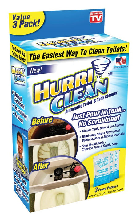 Hurriclean HC-MC12/6 As Seen on TV Toilet Bowl Cleaner, 2.67 oz.