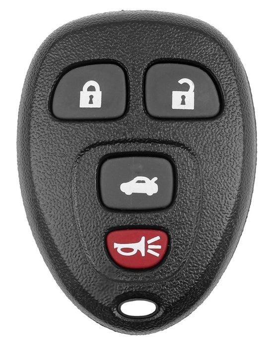 Hy-Ko 19GM910F Key Fob Shell, 4 Buttons, Plastic