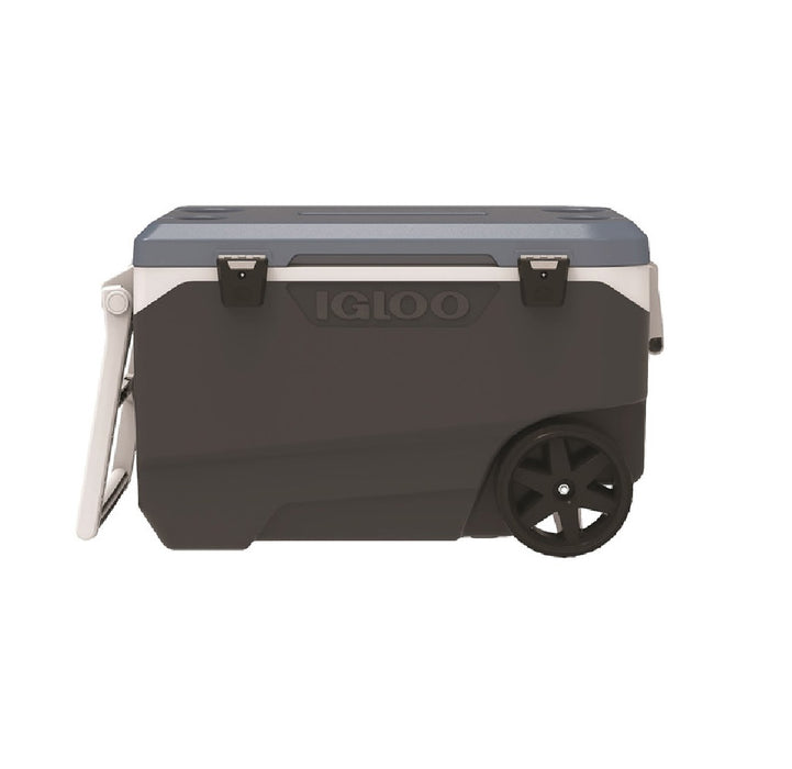 Igloo 34488 MaxCold Latitude Cooler, Blue/Gray, 90 Quarter