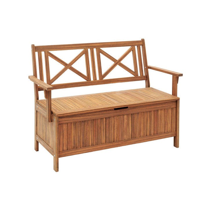 Excellent Jack Post Jpc 502Tl Crossback Storage Bench Wood Pdpeps Interior Chair Design Pdpepsorg