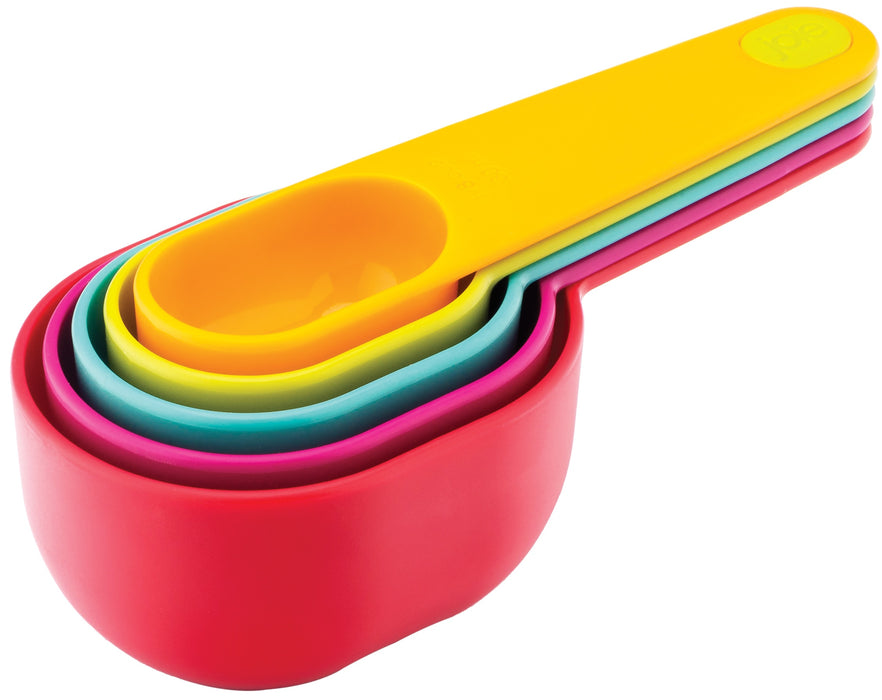Joie MSC 26802 Measuring Cups, Assorted Colors