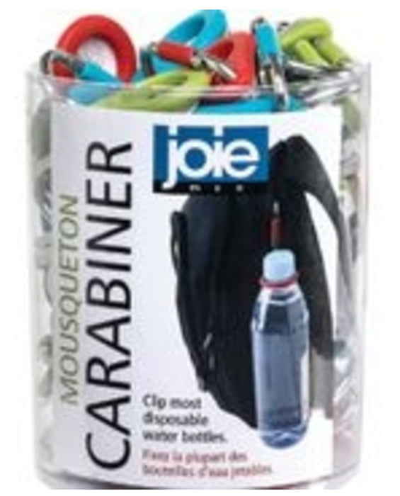 Joie MSC 19983PRO Disposable Bottles Carabiner, Assorted Colors