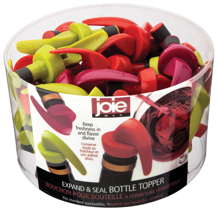 Joie MSC 20411PRO Leakproof Expand & Seal Bottle Topper, Assorted Colors